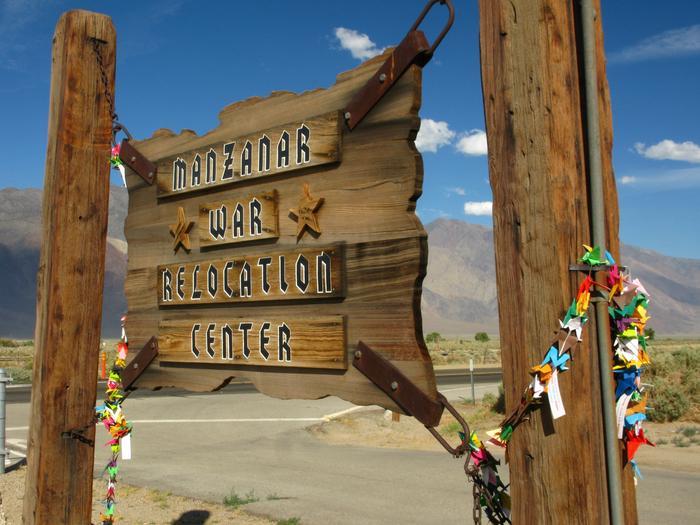 Historic Entrance Sign, Manzanar