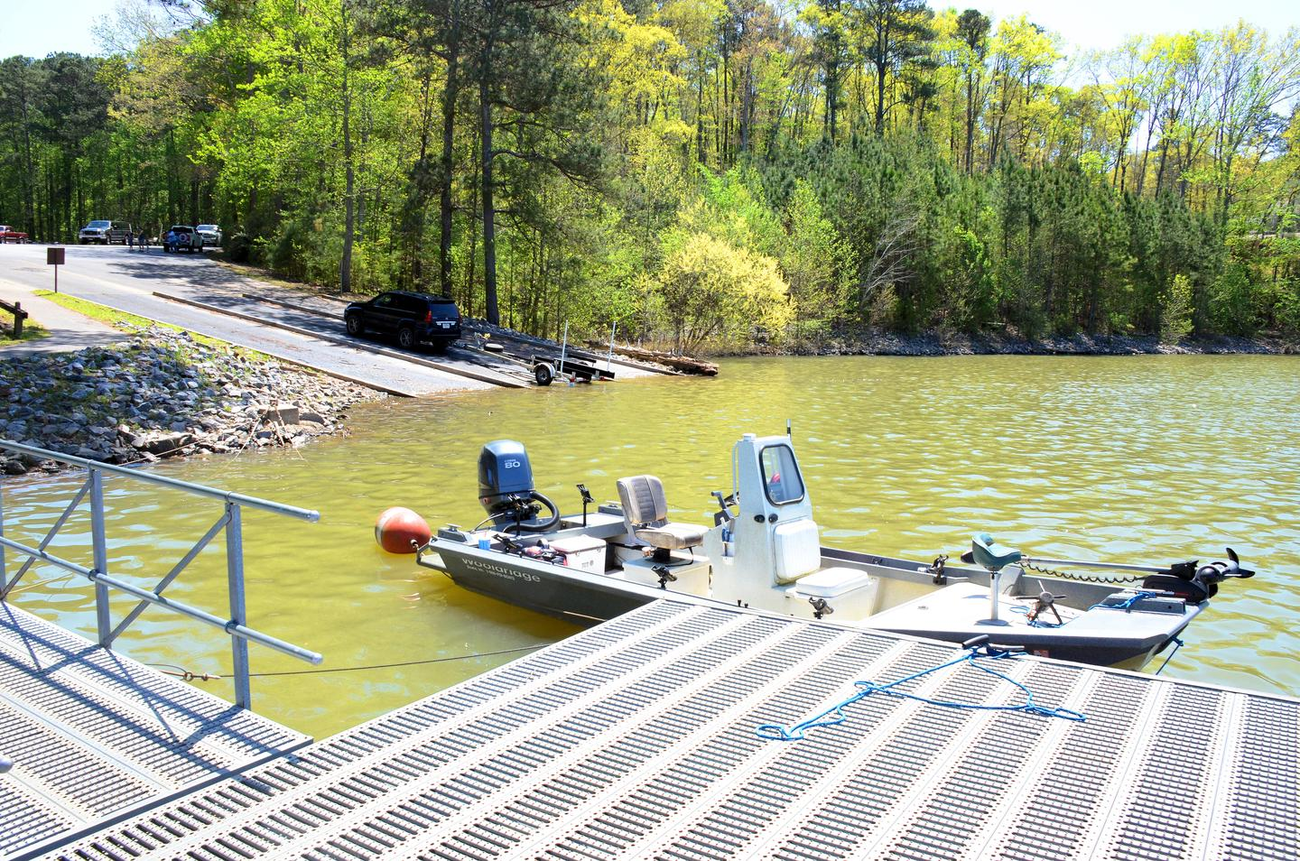 Galt's Ferry Boat Ramp and Courtesy Dock
