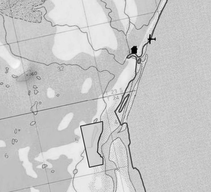 Topographic map of Esker Stream Cabin (Wrangell-St Elias)