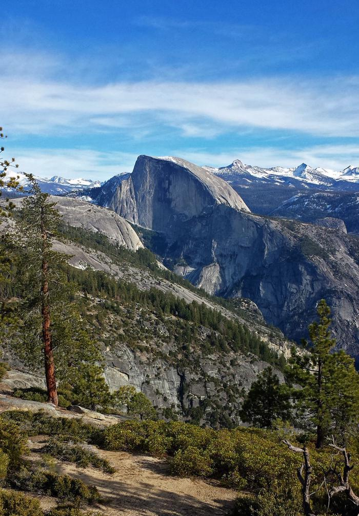 Half DomeHalf Dome is one of the most recognizable granitic formations in the world.