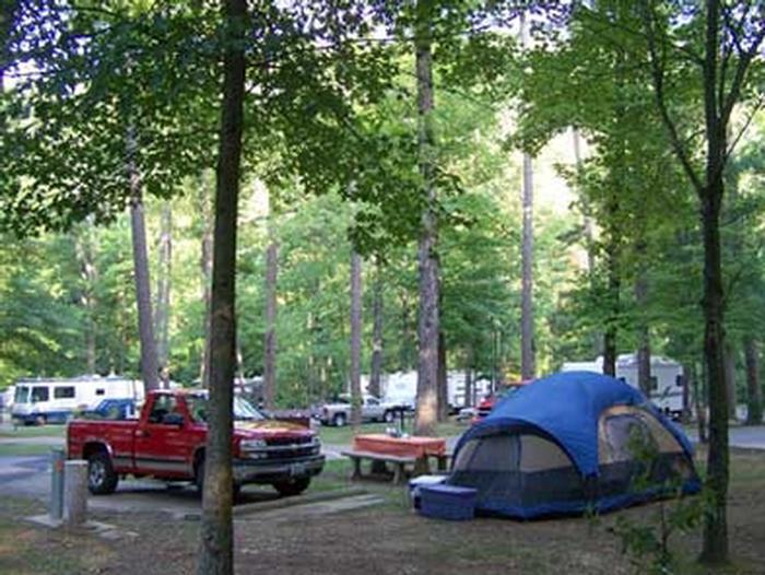 Gulgha Gorge CampgroundCamping in Hot Springs National Park