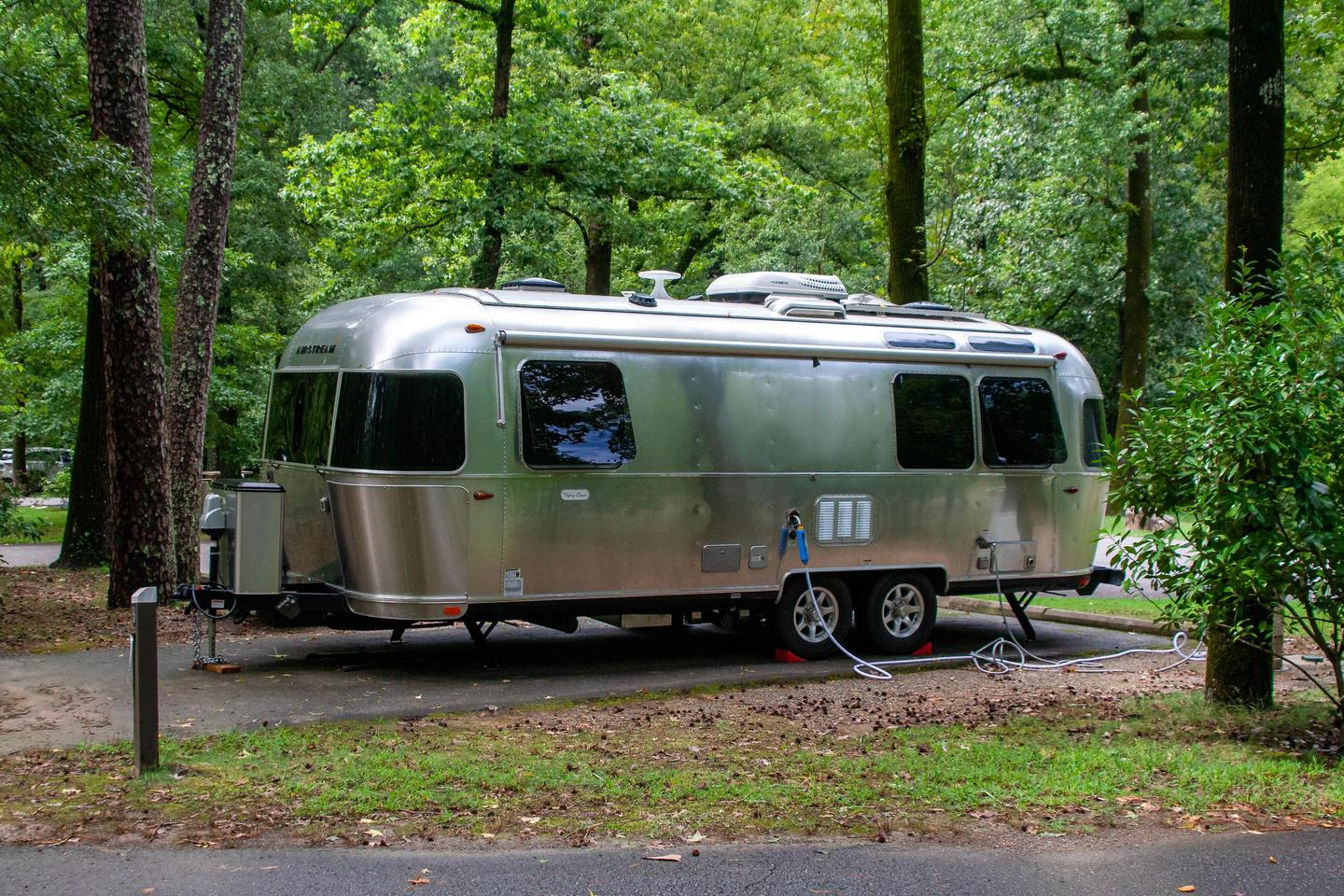RV CampingAll sites come with full RV hookups for electric and water.