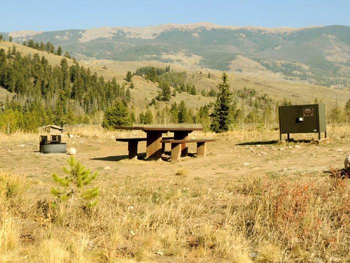 Blue River CampgroundSite 1