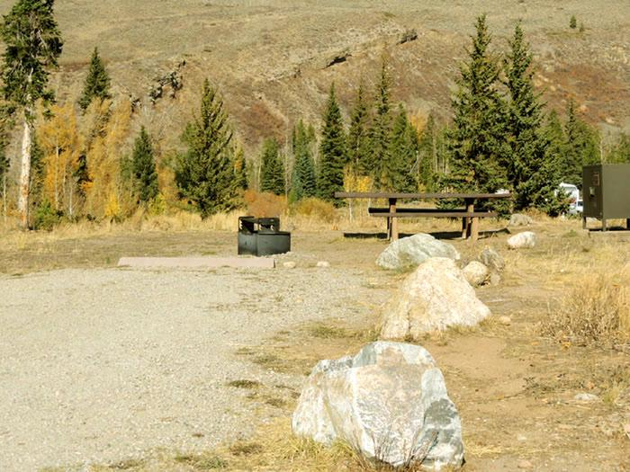 Blue River CampgroundSite 2