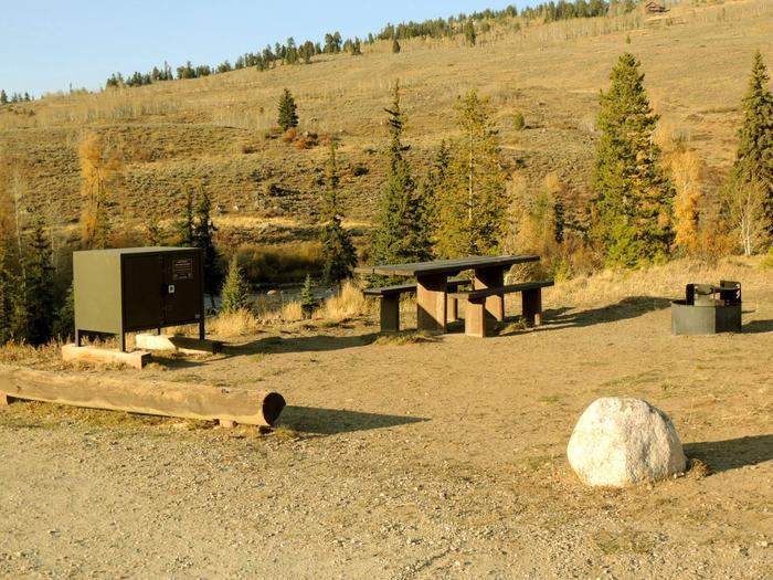 Blue River CampgroundSite 3