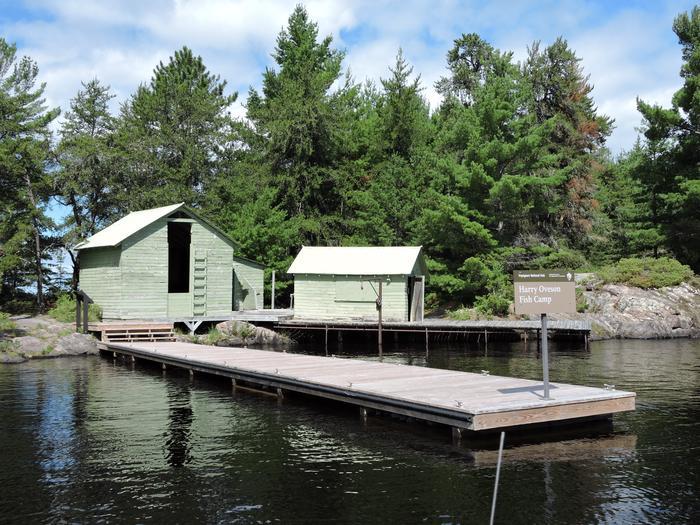 Ovesons's fish camp on Rainy LakeHistoric Oveson's Fish Camp on Rainy Lake