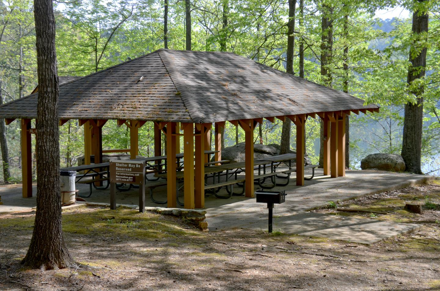 Cooper's Branch #2 Pavilion.Cooper's Branch #2 Pavilion.  Can be reserved.