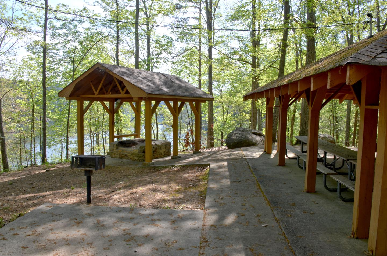 Cooper's Branch #2 Pavilion BBQ Pit