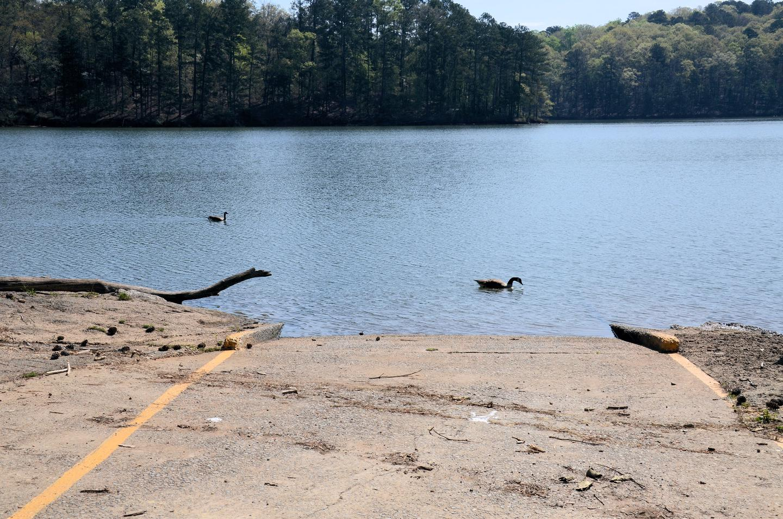 McKaskey Creek Campground Boat Ramp.