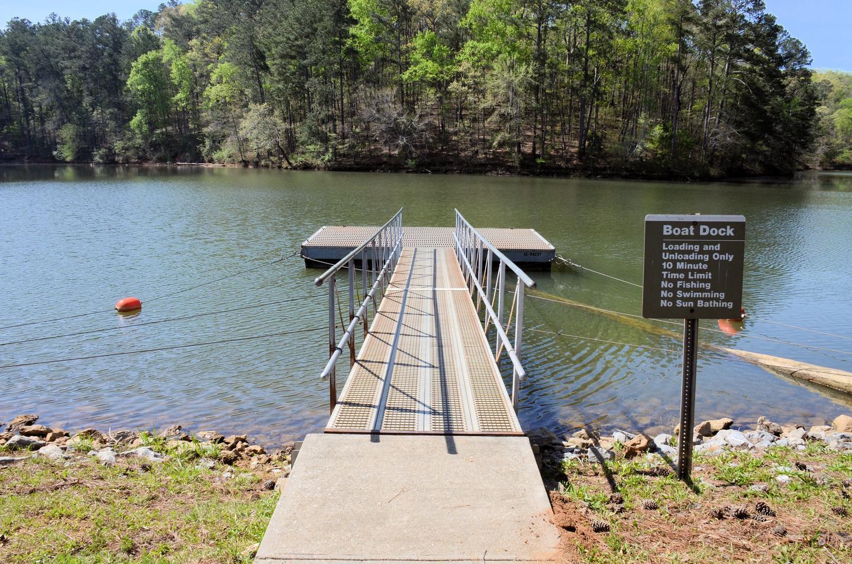 McKaskey Creek Campground Courtesy Dock