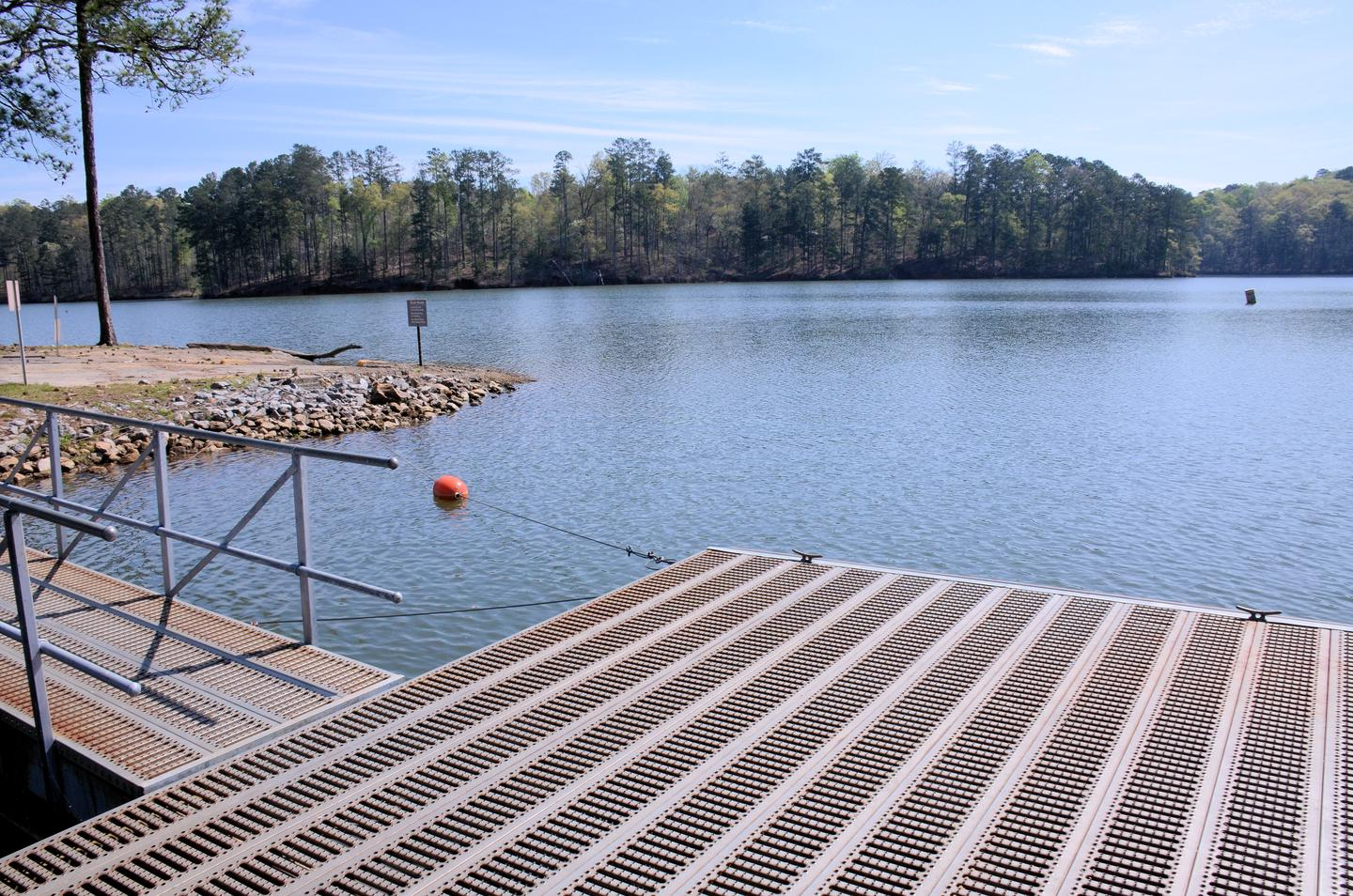McKaskey Creek Campground Courtesy Dock and Boat Ramp