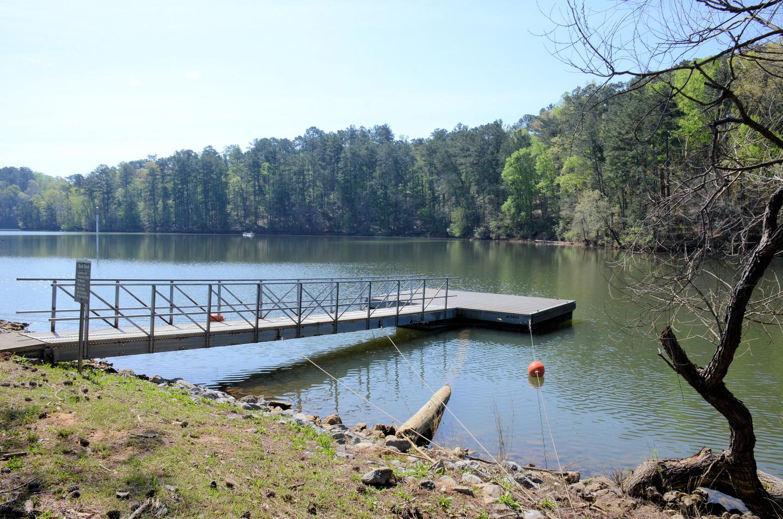 McKaskey Creek Campground Courtesy Dock.