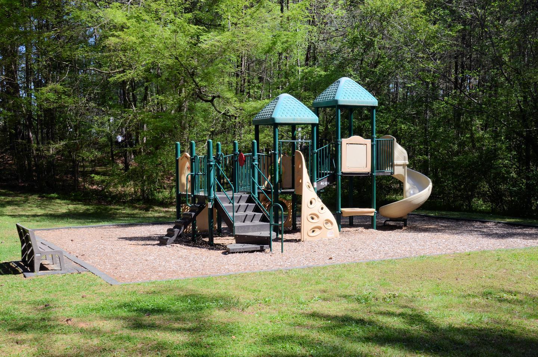 McKaskey Creek Campground Playground.McKaskey Creek Campground Playground