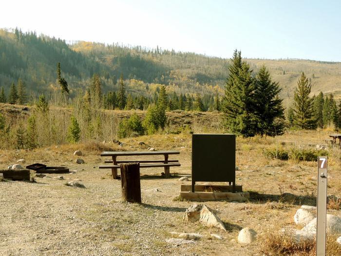 Blue River CampgroundSite 7