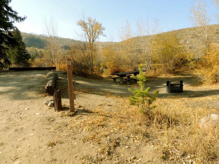 Blue River CampgroundSite 13