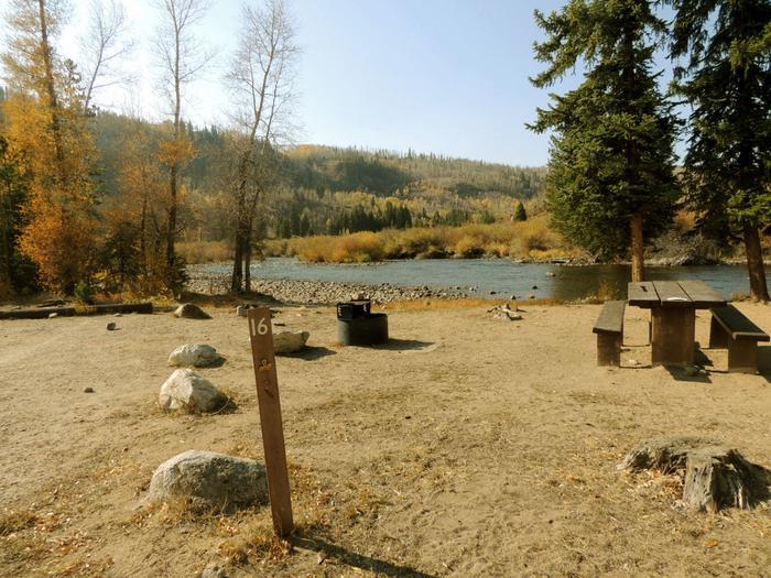 Blue River CampgroundSite 16