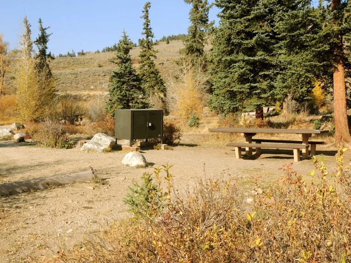 Blue River CampgroundSite 17