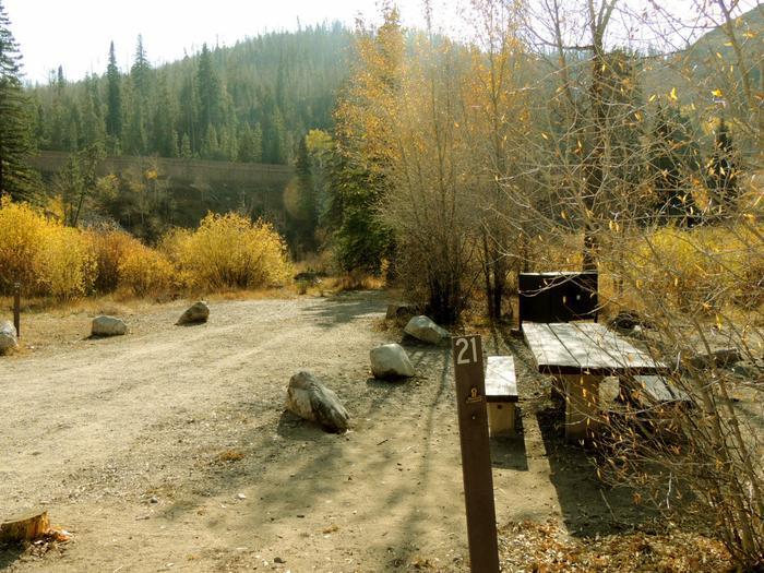 Blue River CampgroundSite 21