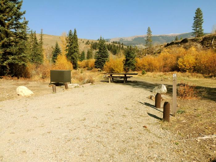 Blue River CampgroundSite 24