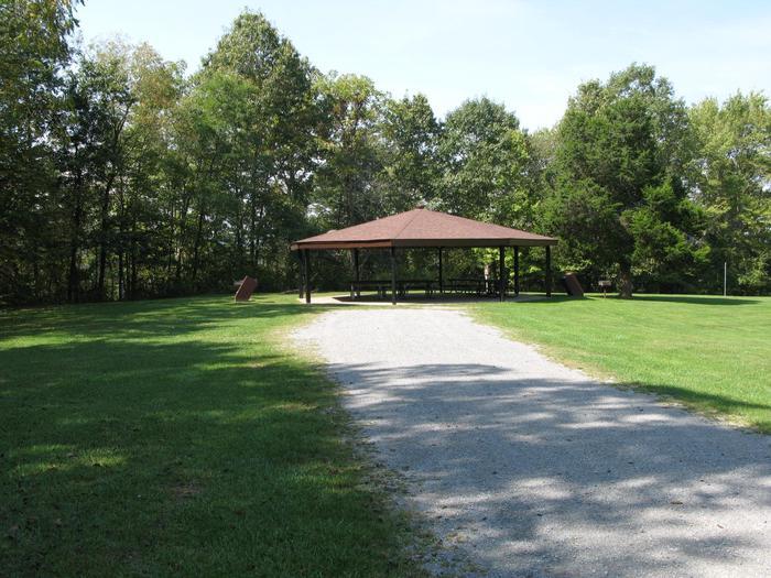 Burnwood ShelterPicnic shelter at Burnwood
