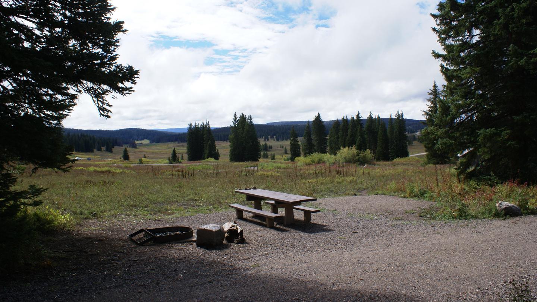 Dumont Campground, Rabbit Ears PassDumont Campground, Rabbit Ears Pass, Site 9