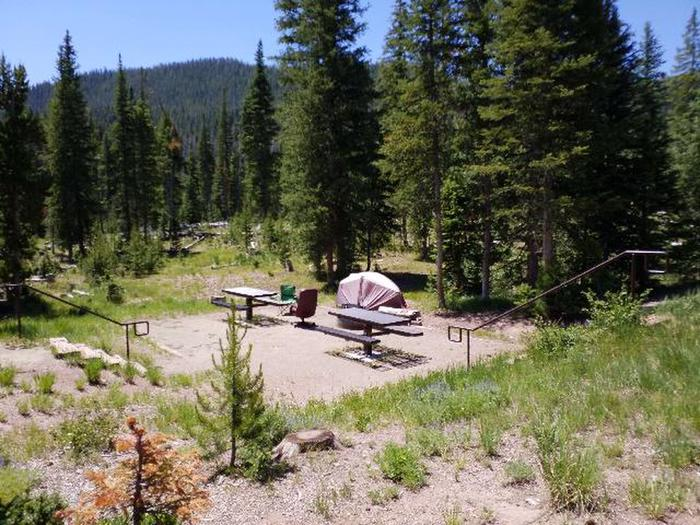 Hahns Peak Lake, Site 23, double site