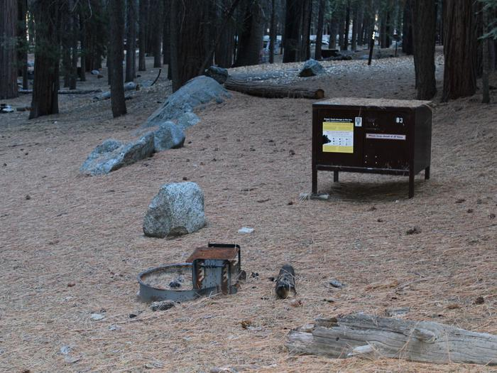 Sheep Creek Site 83