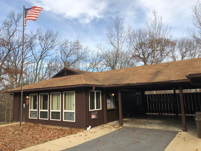 Ranger Station near the campgroundRanger Station near the campground opens May 20