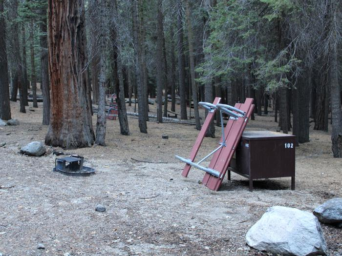 Sheep Creek Site 102