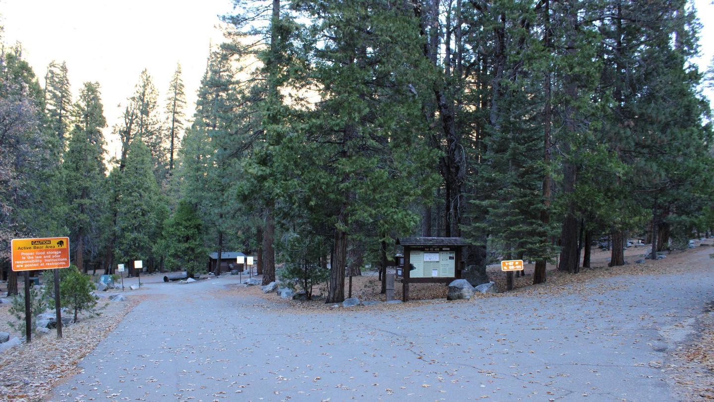 Sheep Creek Campground Entrance