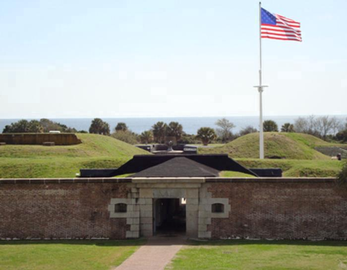 Fort MoultrieFort Moultrie spans 171 years from 1776-1947