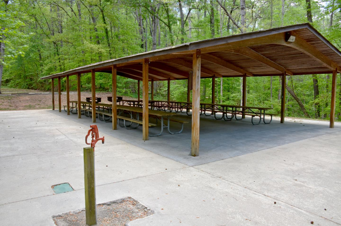 Sweetwater Day Use Shelter...Sweetwater Day Use Shelter.  Potable water access.