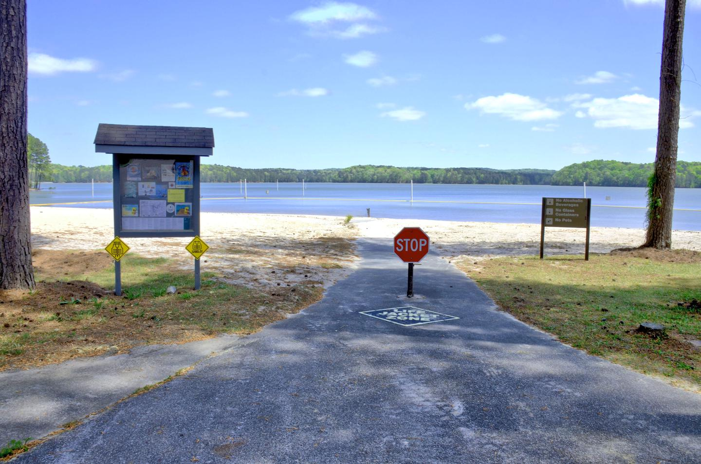 Sweetwater Day Use Beach ADA AccessSweetwater Day Use Beach ADA Access.
