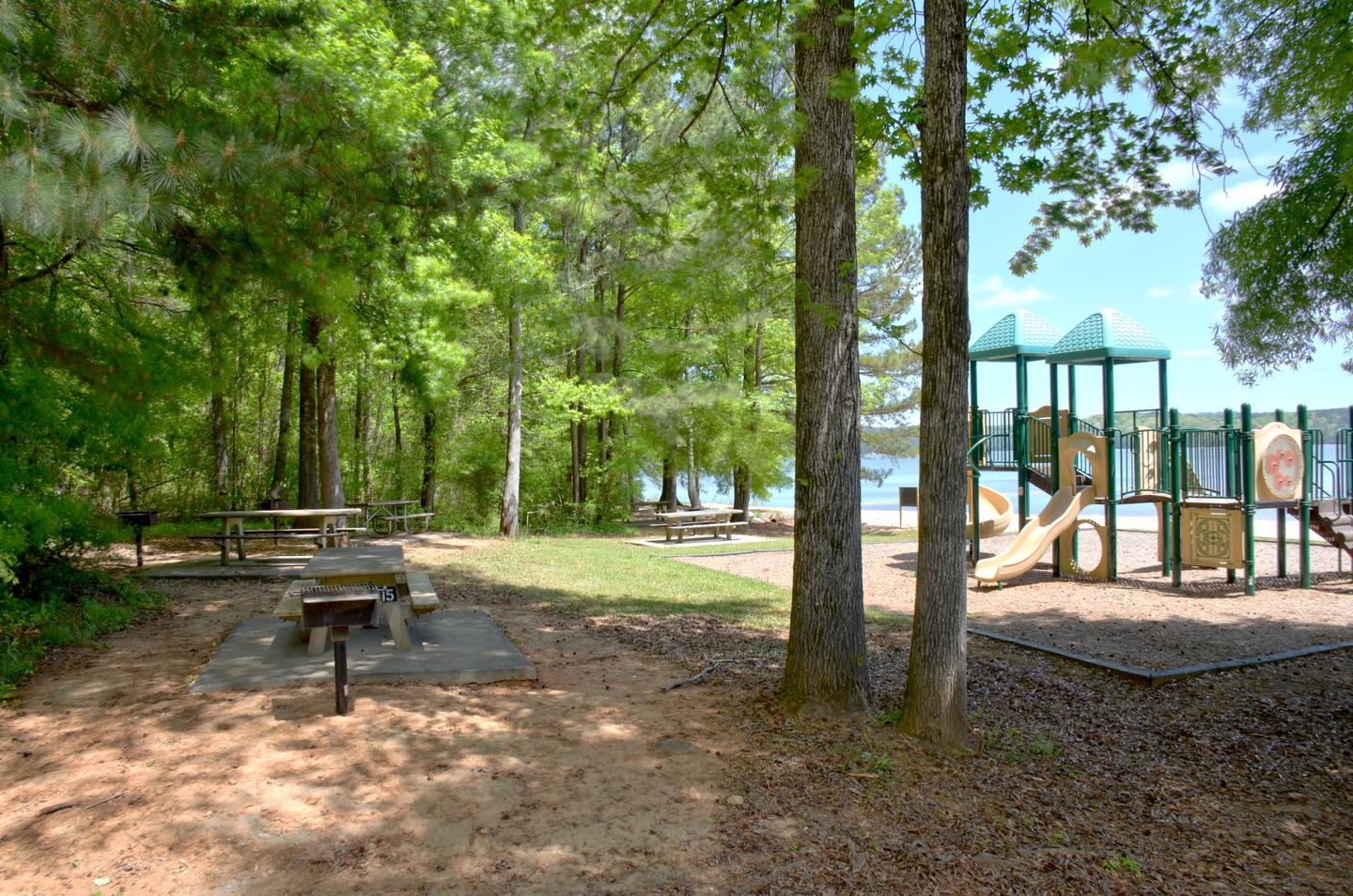 Sweetwater Day Use Picnic Area Near Playground
