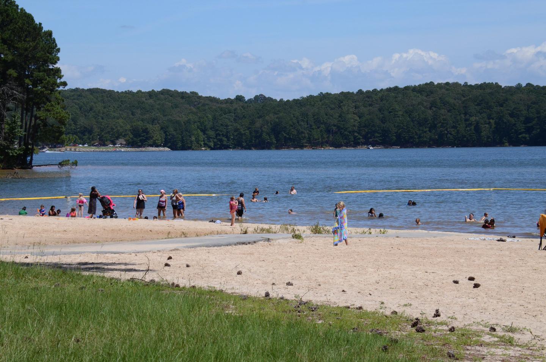 Sweetwater Campground Swim Beach