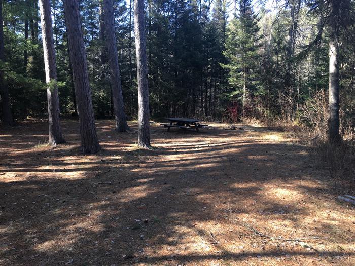 Little Isabella River campsite
