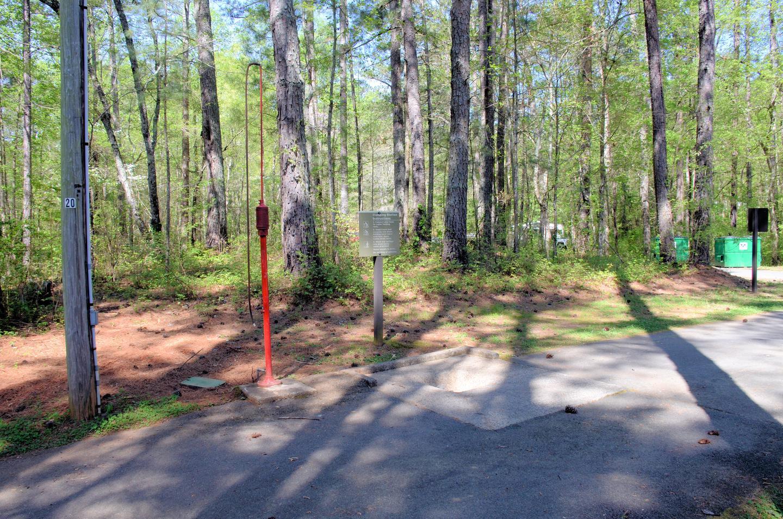 McKaskey Creek Campground Dump Station