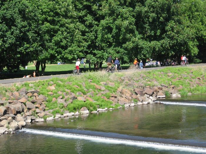 Rooks Park Bike trailRecreational activities