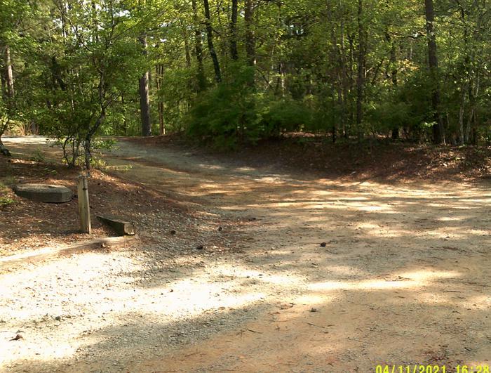 Site 38 Exit Driveway