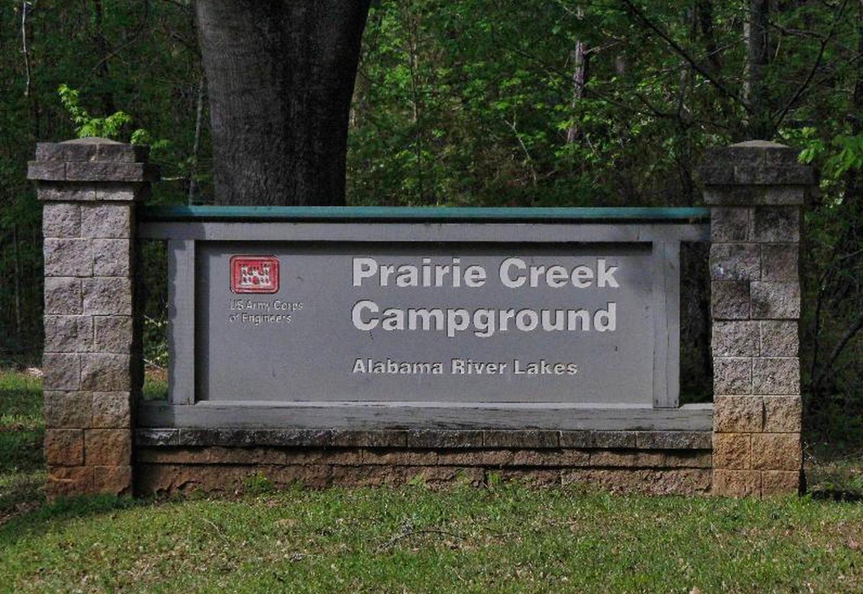 PRAIRIE CREEK SIGNWELCOME TO PRAIRIE CREEK