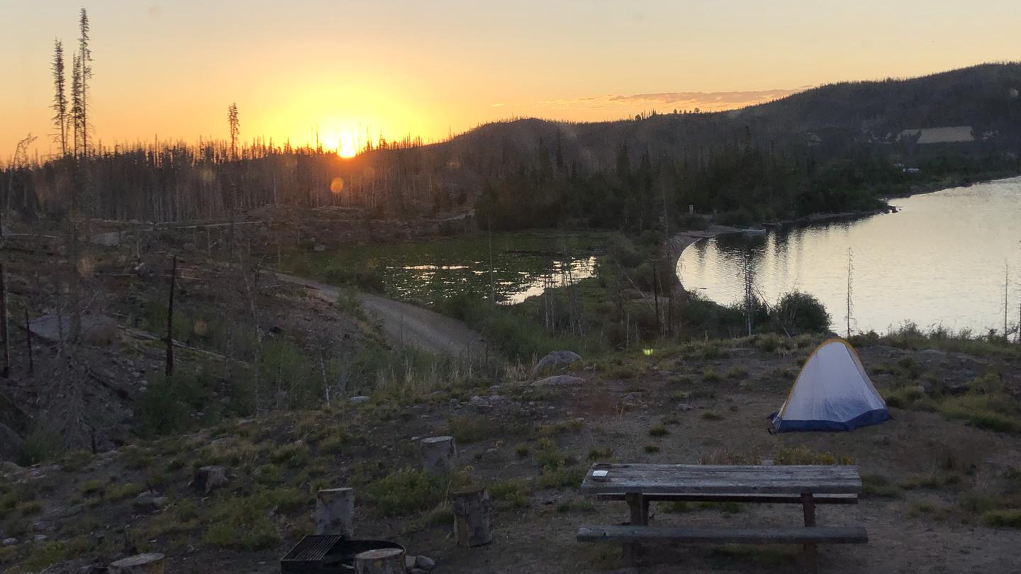 Big Creek Lakes Campground Overview Photo 1