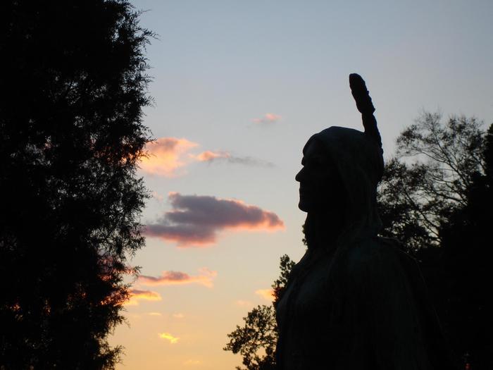 Pocahontas Statue at Historic JamestowneA statue of Pocahontas at Historic Jamestowne.