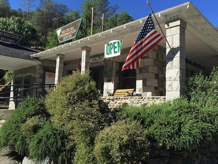 Merced River RMABriceburg Visitor Center is now OPEN - May 4, 2018
