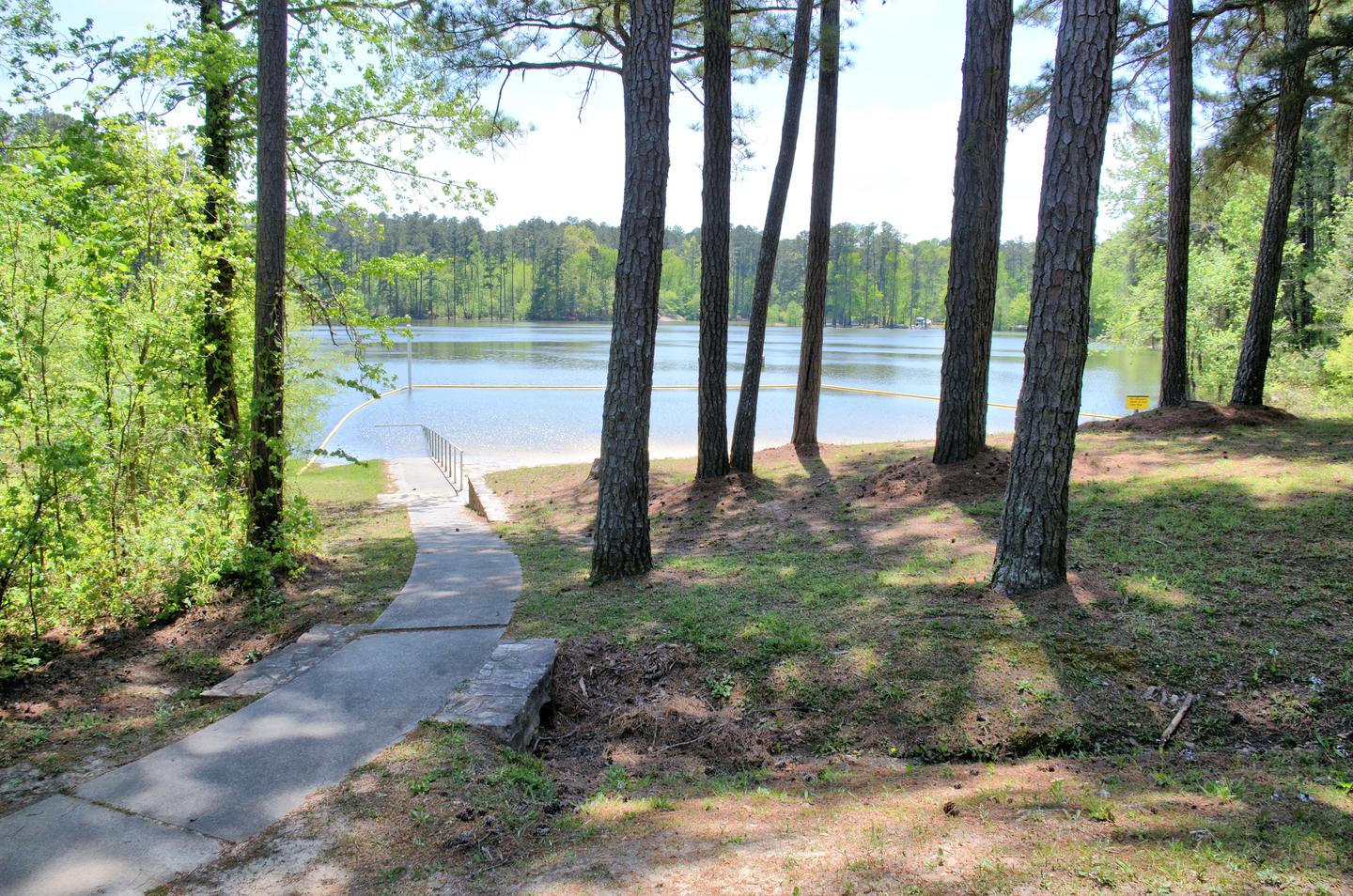 Payne Campground Swimming Beach ADA Accessible