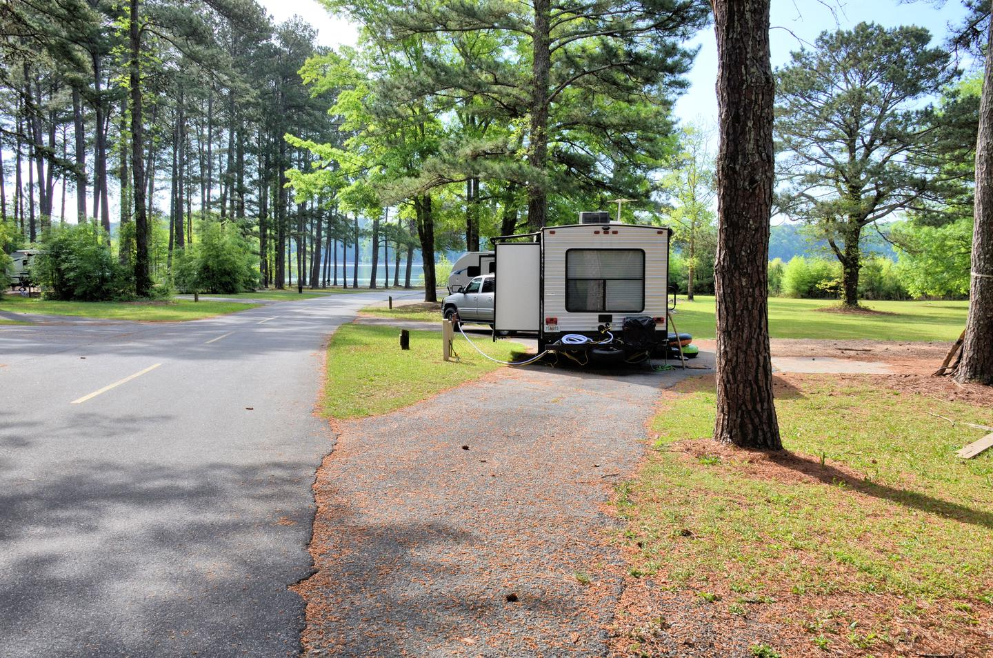 Sweetwater Campground Site 106 Pull Thru Entrance
