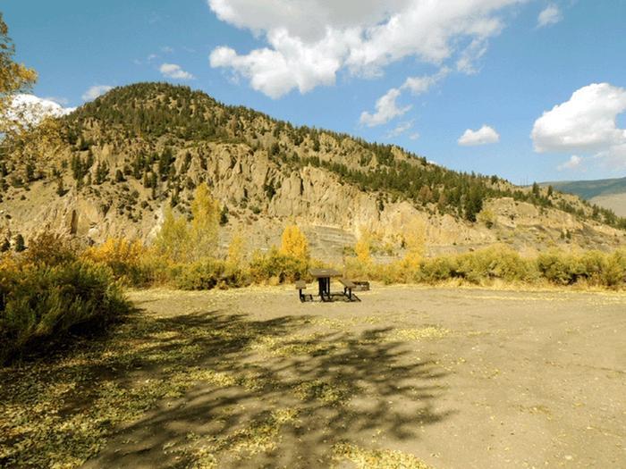 Elliott Creek CampgroundSite 1