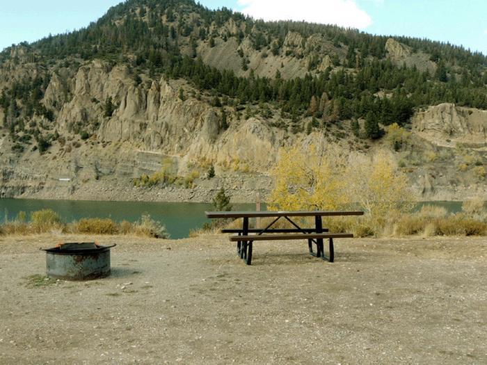 Elliott Creek CampgroundSite 17