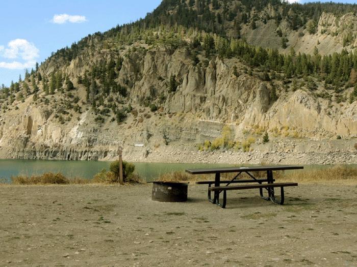 Elliott Creek CampgroundSite 18