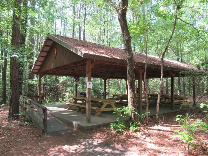 Congaree Picnic Shelter. Congaree Picnic Shelter
