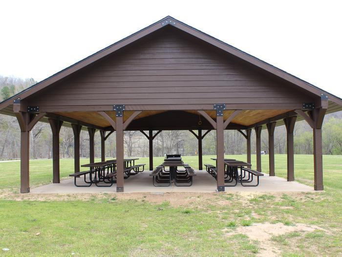 Ozark Pavilion Ozark Pavilion within the Ozark Campground